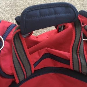 Pottery Barn Kids Accessories - Pottery Barn Boys Red Personalized Small Duffle